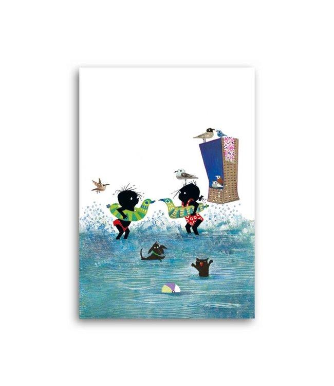 Bekking & Blitz 'Jip & Janneke in het water' Enkele Kaart