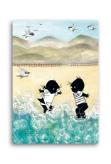 Bekking & Blitz 'Jip and Janneke in the sea' Single Card, Fiep Westendorp