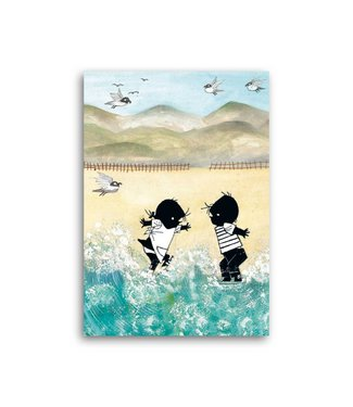 Bekking & Blitz 'Jip and Janneke in the sea' Single Card