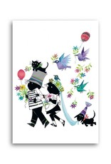 Bekking & Blitz 'Jip and Janneke as bride and groom' Single Card, Fiep Westendorp