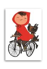 Bekking & Blitz 'Meisje op de fiets' Enkele Kaart, Fiep Westendorp