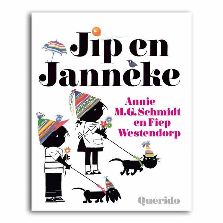 Querido Jip en Janneke Boek - Annie M.G. Schmidt, hardcover