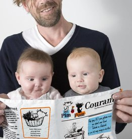Qukel Pim and Pom Crackle Newspaper