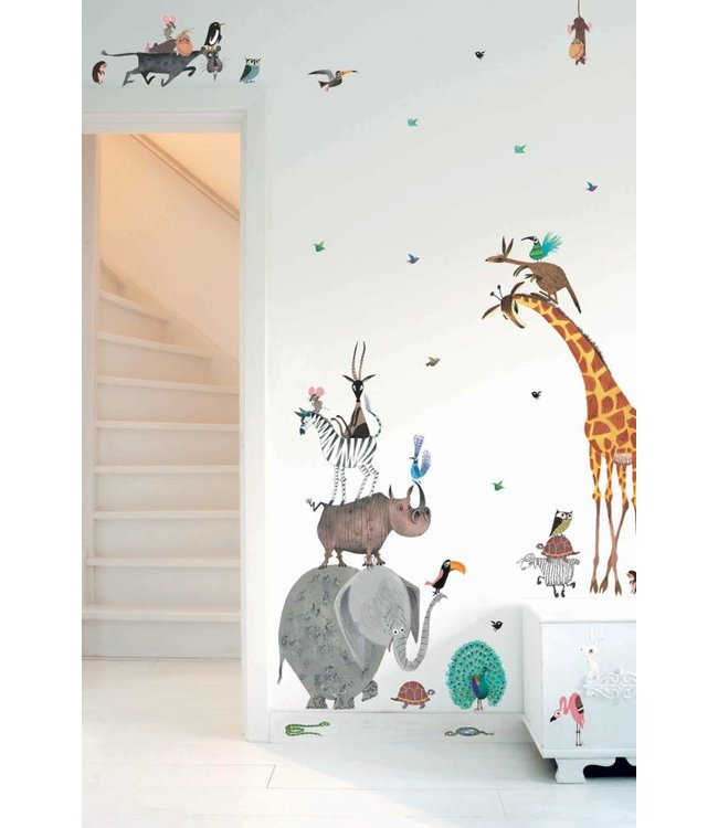 Kek Amsterdam Fiep Westendorp Animal Wall stickers (XXL)