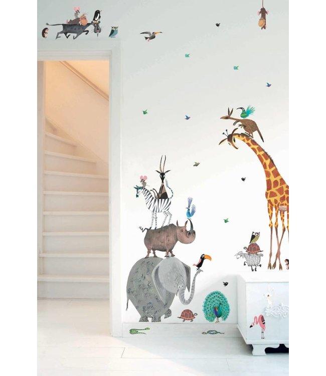 Kek Amsterdam XXL Animal Wall Stickers for kids rooms
