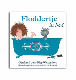 Querido Floddertje in bad (Scrumple in bath)
