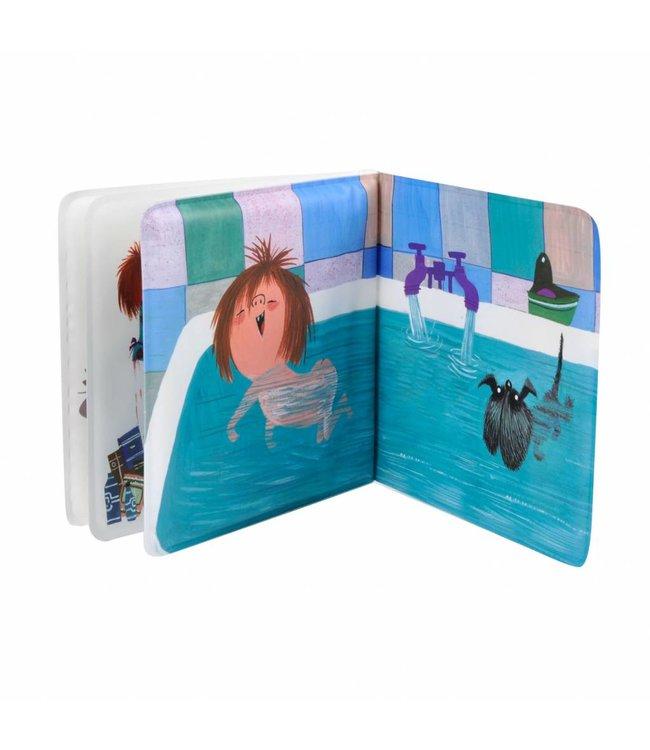 Floddertje in bad (in bath) - Annie M.G. Schmidt and Fiep Westendorp