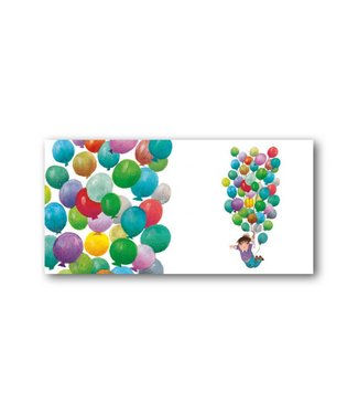 Bekking & Blitz 'Balloon Flight' XXL Card