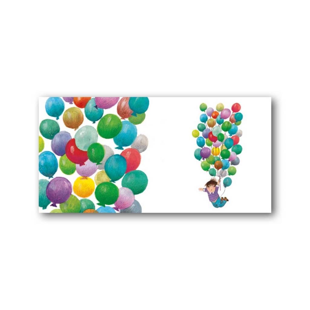 Bekking & Blitz 'Ballonvaart' XXL Kaart, Fiep Westendorp