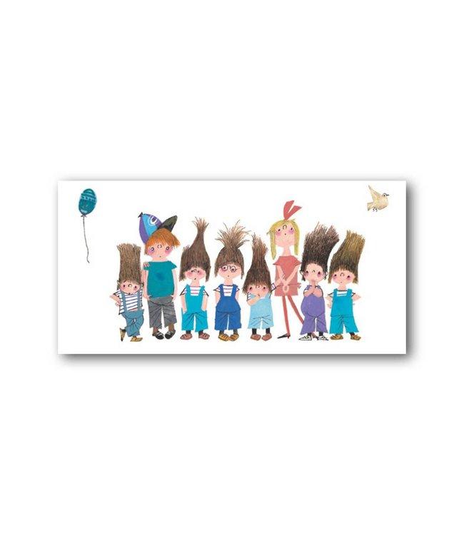 Bekking & Blitz 'Pluk and Friends' XXL Card