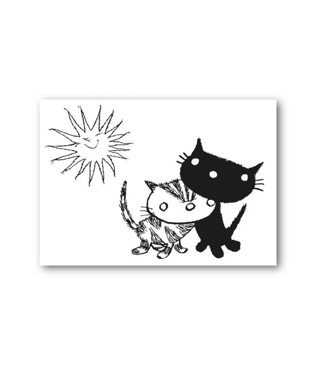 'Pim and Pom in the sun' Single Card, Fiep Westendorp