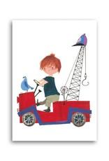Bekking & Blitz 'Pluck in Tow-Truck' Single Card, Fiep Westendorp
