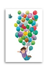 Bekking & Blitz 'Balloon flight' Single Card, Fiep Westendorp