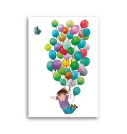 Bekking & Blitz 'Balloon flight' Single Card