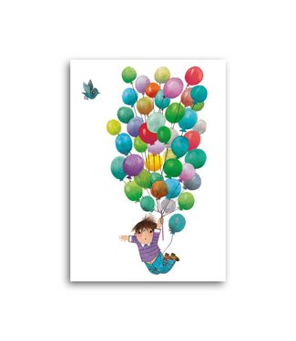 Bekking & Blitz 'Balloon flight' Single Card