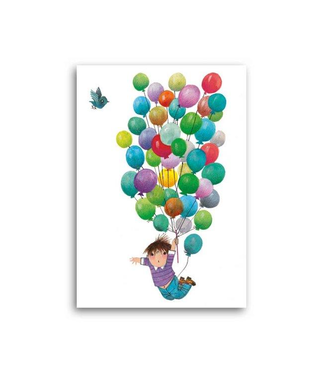 'Balloon flight' Single Card, Fiep Westendorp