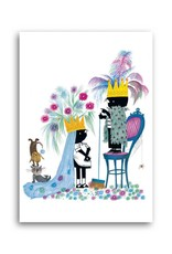 Bekking & Blitz 'Jip and Janneke as King and Queen' Single Card, Fiep Westendorp