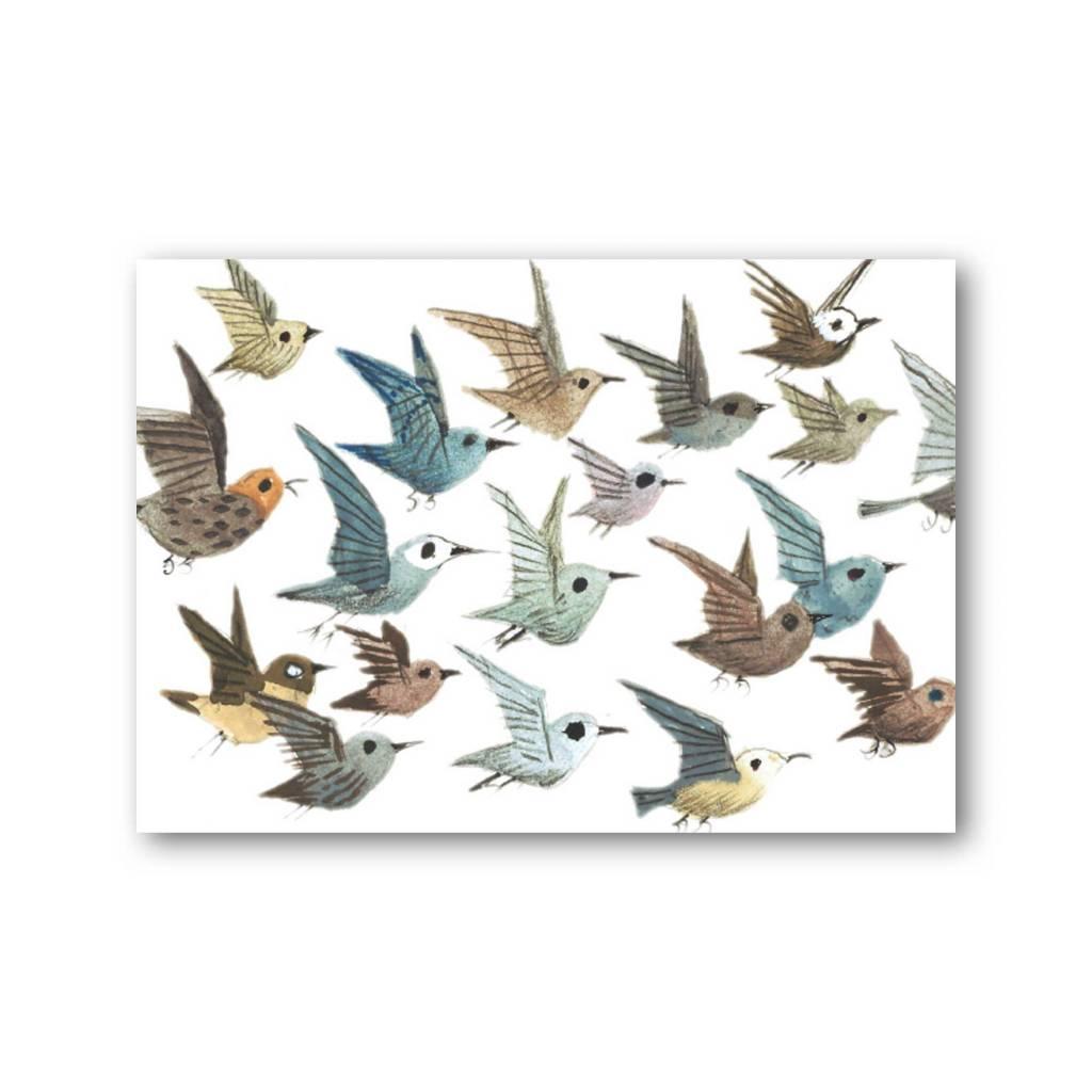 Bekking & Blitz 'Birds' Single Card, Fiep Westendorp
