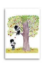 Bekking & Blitz 'Jip & Janneke are picking apples' Single Card, Fiep Westendorp