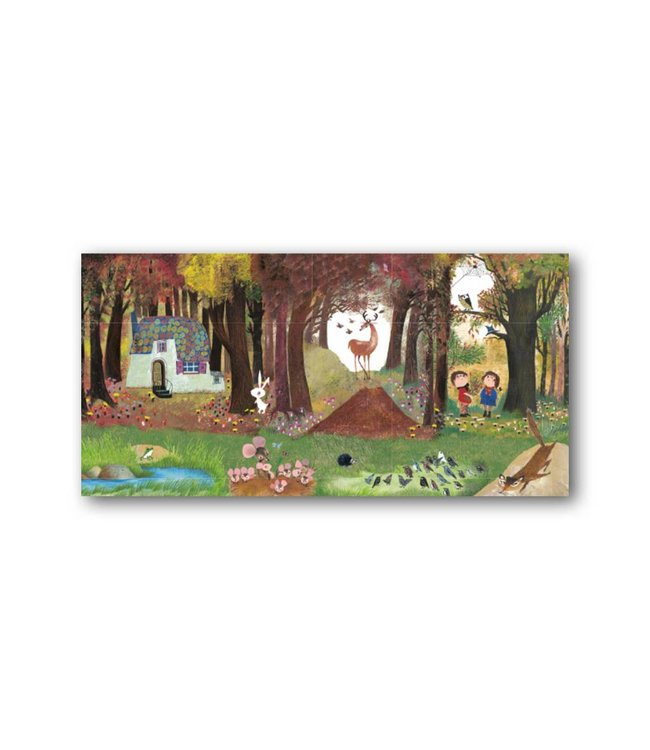 'Pluk in the forest' XXL Card, Fiep Westendorp