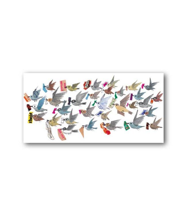 Bekking & Blitz 'Vogels' XXL Kaart