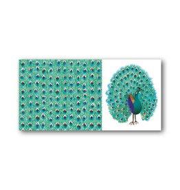 Bekking & Blitz 'Peacock' XXL Card