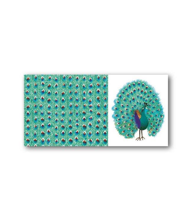 'Peacock' XXL Card, Fiep Westendorp