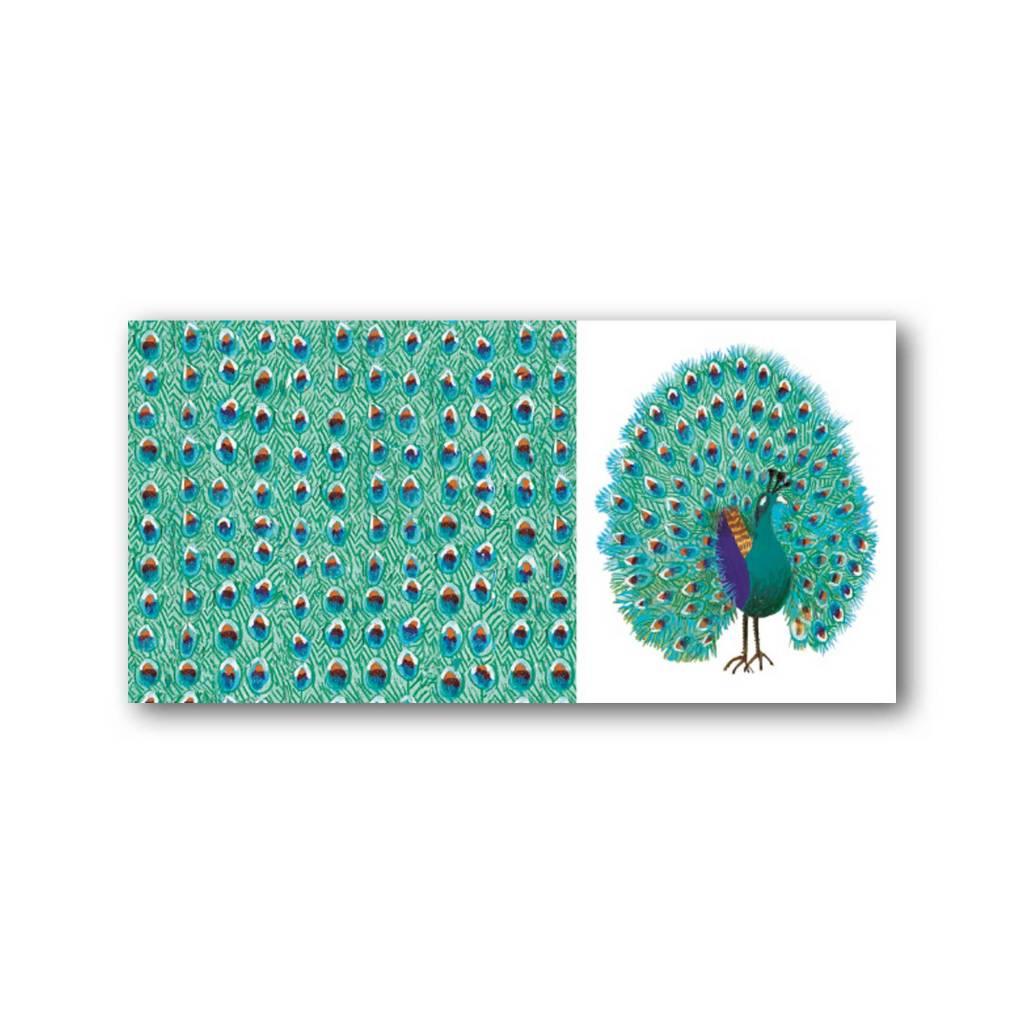 Bekking & Blitz 'Peacock' XXL Card, Fiep Westendorp