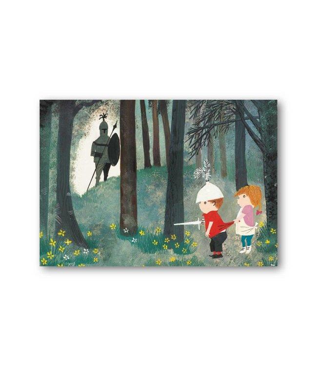 'Pluck as a knight' Single Card, Fiep Westendorp