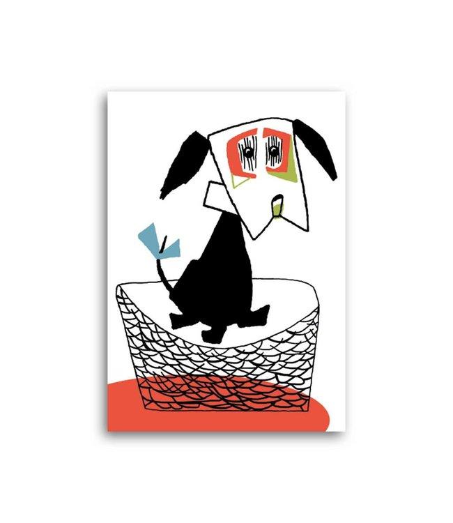 'Dog' Single Card, Fiep Westendorp