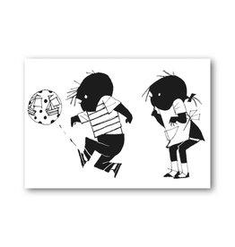 Bekking & Blitz 'Jip & Janneke met een bal' Enkele Kaart