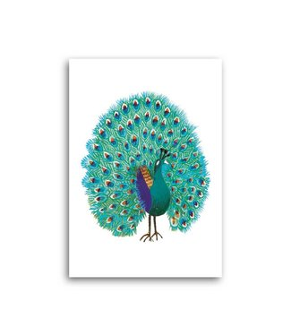 Bekking & Blitz 'Peacock' Single Card