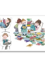 Bekking & Blitz 'Book Party' Single Card, Fiep Westendorp