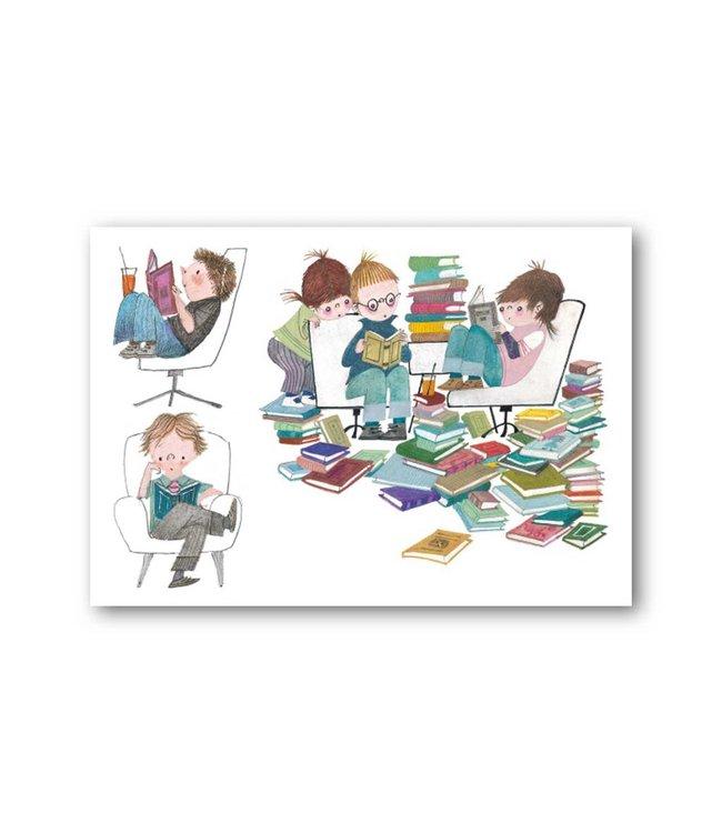 'Boekenfeest' Enkele Kaart, Fiep Westendorp