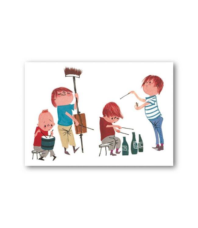 'Musicians' Single Card, Fiep Westendorp