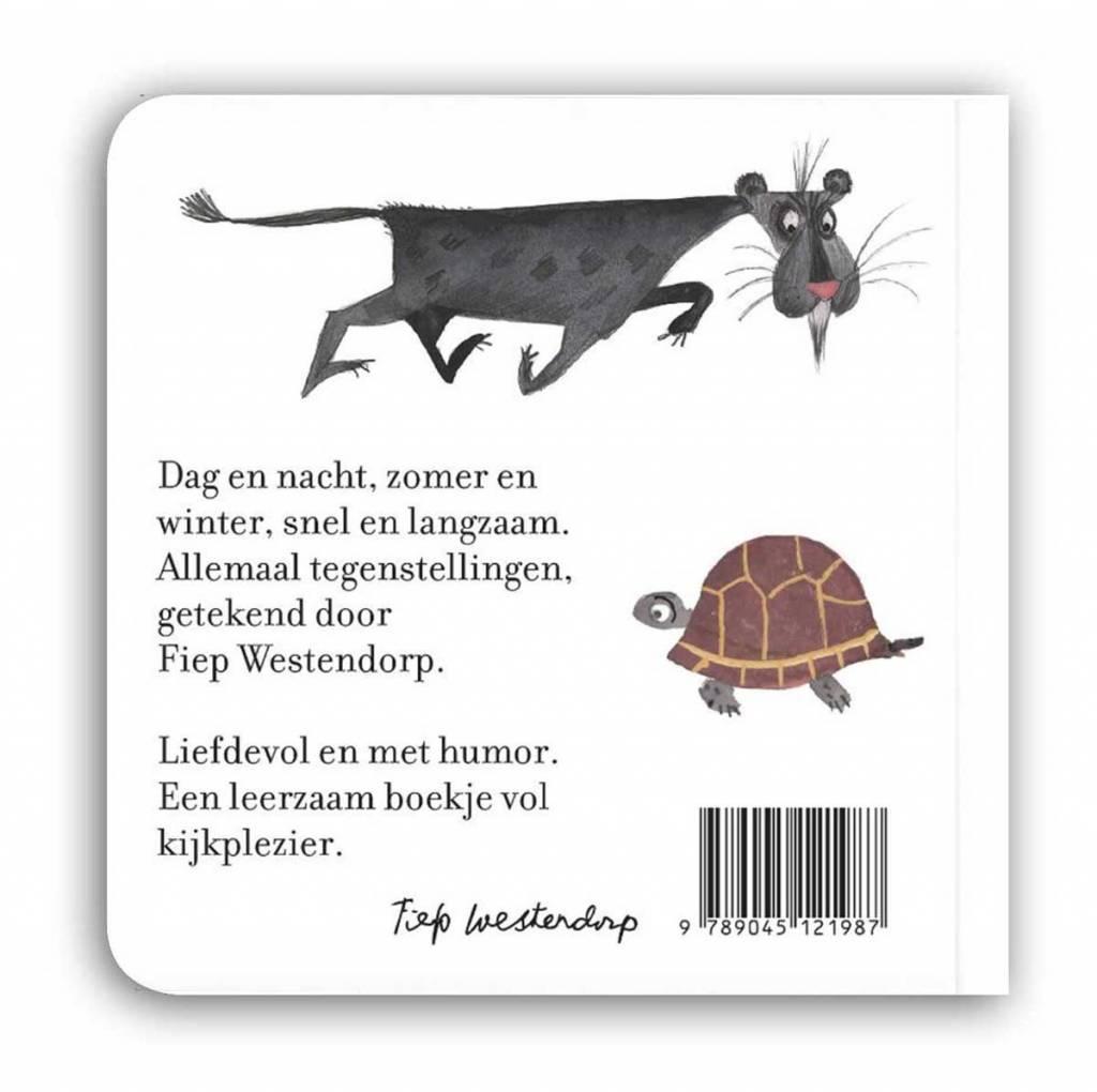 Querido Fiep in Tegenstellingen, kartonboekje