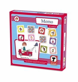 Bambolino The Red Tow Truck Memory Game