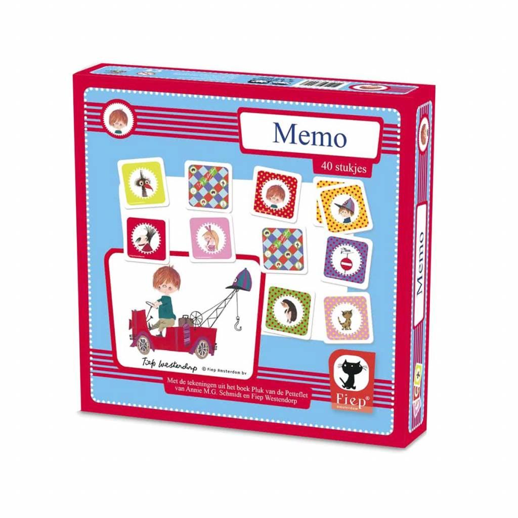 Bambolino Memoryspel 'De Rode Kraanwagen' / Pluk en zijn vriendjes