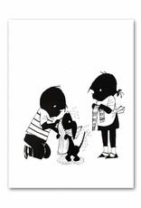 Art Unlimited Jip en Janneke Poster, 'Takkie is nat', 30 x 40 cm