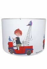 Designed4Kids Hanging Lamp 'The Red Tow Truck'