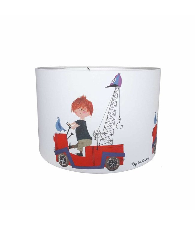 Hanging Lamp 'The Red Tow Truck'