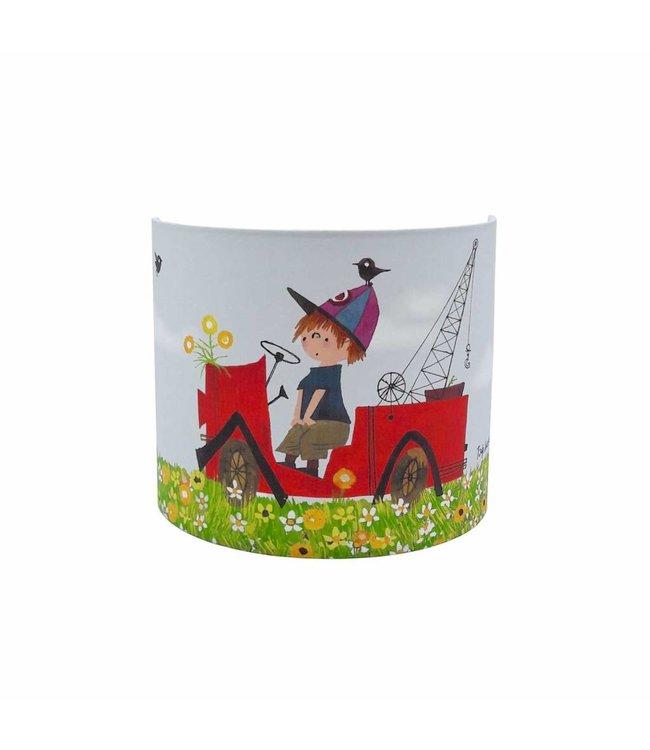 Wall Lamp 'Tow Truck, Flower'