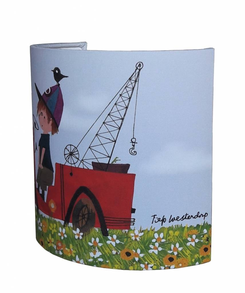 Designed4Kids Wall Lamp 'Tow Truck, Flower'
