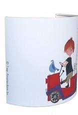 Designed4Kids Wandlamp 'De Rode Kraanwagen'