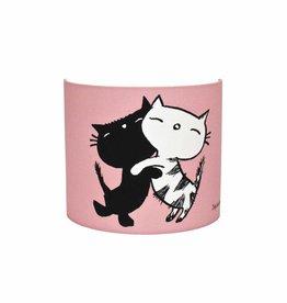 Designed4Kids Wandlamp 'Pim en Pom' - roze