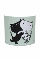 Designed4Kids Wall Lamp 'Pim and Pom' - mint