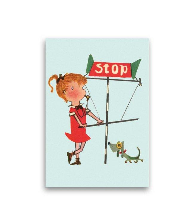 'Stop' Single Card