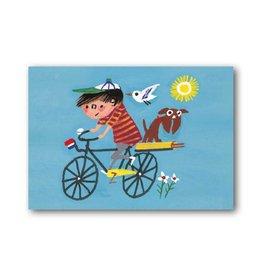 Bekking & Blitz 'Op de fiets' Enkele kaart