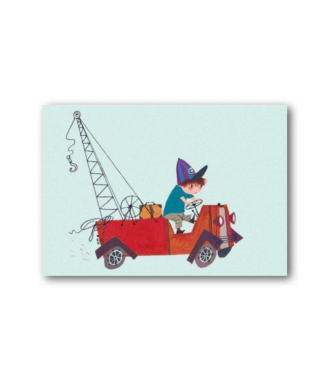 'Tow Truck' Single Card