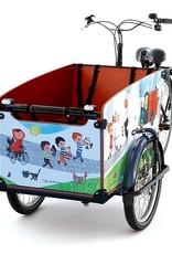 Babboe Fiep Westendorp  Decorative Sticker for Babboe Big